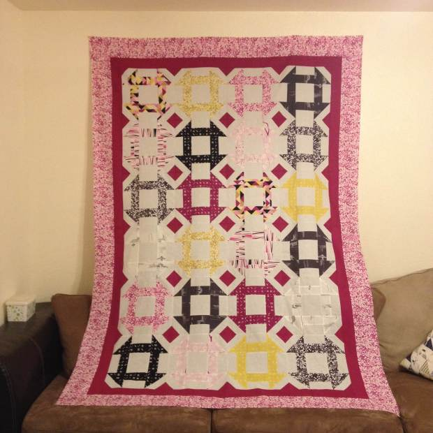Tater's Quilt Top