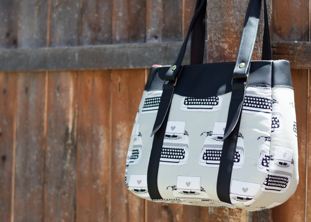 The Evelyn Handbag – Swoon Patterns – Small Town Thread